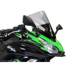 Kawasaki Ninja 650 2017-2019 Double Bubble Screen Dark Tint | Powerbronze 400-K140-002