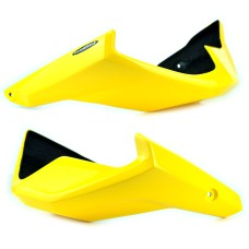 Honda CB650F Pearl Queen Bee Yellow 2014≥ Belly Pan  | Pyramid Plastics 21053F