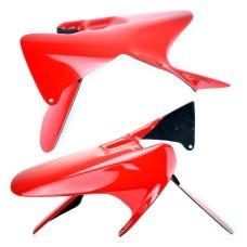 Honda CBR1000RR 2004-2007 Hugger Red R258 | Pyramid 071083E