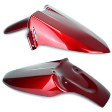 Honda VFR1200X Crosstourer Hugger Candy Prominence Red | Pyramid Plastics 07110E