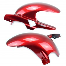 Honda CB1300 Hugger Red with chain guard | Pyramid 07141D