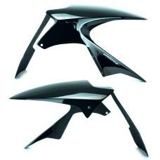 Kawasaki ZX636 2005-2006 Hugger Gloss Black | Pyramid Plastics 073015B