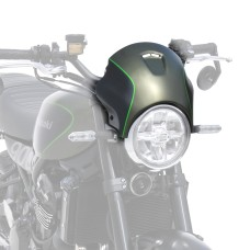Kawasaki Z900 RS 2018-2019 Metallic Matt Covert Green & Flat Ebony with pinstripe Nose Fairing | Ermax 1503S68-GF