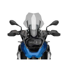 BMW R1200 GS Electronic Screen Mounting System Black | Puig M9718N