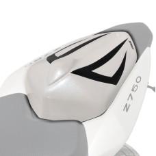 Kawasaki Z750 Seat Cover White/Black Matt | Pyramid Plastics 850309060