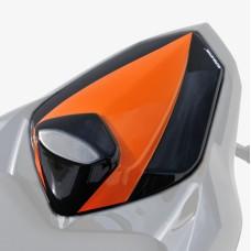 Kawasaki Z800 / Z800E  2013> Seat Cowl  Amber and Black | Pyramid Plastics 850384084