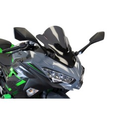 Kawasaki Ninja 400 2018-2019 Double Bubble Screen Dark Tint | Powerbronze 400-K141-002